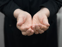 Old hands Royalty Free Stock Photo