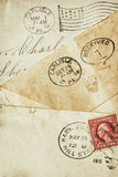 An old handwritten letter. Royalty Free Stock Photos
