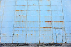 Old hangar gate Royalty Free Stock Photography