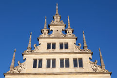 Old hanseatic facade Stock Image