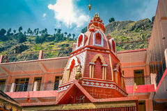 Old Hanuman temple in Manikaran Royalty Free Stock Photo
