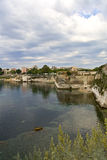 Old harbor at Corfu in Greece. Old harbor at Corfu city in Greece Stock Photography