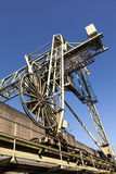 Old harbor crane Stock Image