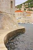 Old Harbor at Dubrovnik, Croatia Royalty Free Stock Images