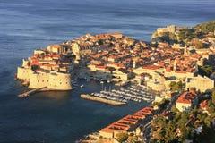 Old Harbor at Dubrovnik, Croatia Royalty Free Stock Image