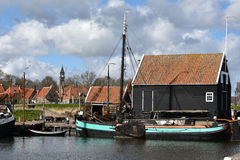 Old harbor of Enkhuizen Royalty Free Stock Photo