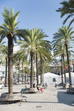 The old harbor of Genova (porto antico) Royalty Free Stock Images