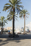 The old harbor of Genova (porto antico) Stock Photos