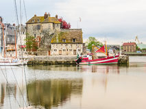 Old Harbor. Honfleur, Normandy, France Royalty Free Stock Image