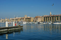 Old harbor of Marseille Royalty Free Stock Image