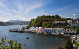 Old Harbor of Portree Royalty Free Stock Photos