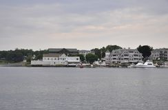 Portsmouth, 30th June: Old Harbor of Portsmouth from New Hampshire of USA stock photos