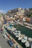 The old harbor Vallon des Auffes in Marseille in France Stock Photo