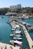 Old harbour Antalya Royalty Free Stock Photography