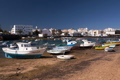 Old Harbour, Arrecife, Lanzarote, Canary Islands Stock Images