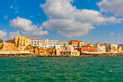 Old harbour, Chania, Crete, Greece Stock Image