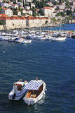 Old Harbour at Dubrovnik Stock Photo