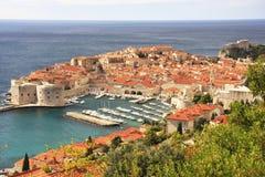Old Harbour at Dubrovnik, Croatia Stock Image