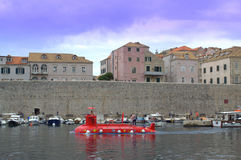 The Old harbour at Dubrovnik Royalty Free Stock Photo
