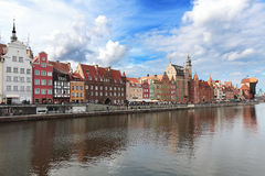 Old harbour in Gdansk Royalty Free Stock Image