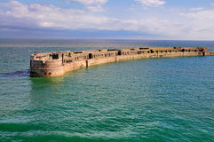 Old Harbour Head, Dover stock photos
