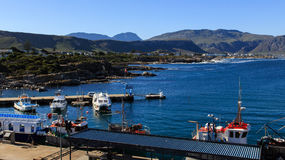 The Old Harbour Hermanus Royalty Free Stock Images