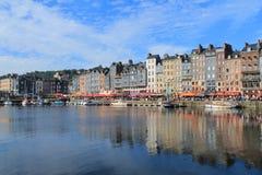 Old harbour of Honfleur, France Stock Image