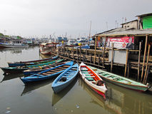 Old harbour of Jakarta - Indonesia Stock Photography