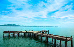 Old Harbour at Khao Leam Ya - Mu Ko Samed. THAILAND royalty free stock photo