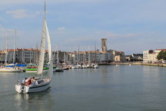 Old Harbour of La Rochelle, France Royalty Free Stock Images