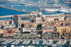 Old harbour of Marseille Stock Image
