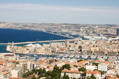 Old harbour of Marseilles Royalty Free Stock Photo