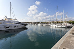 Old Harbour of Saint-Raphael Royalty Free Stock Photo