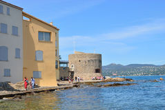 Old harbour, Saint Tropez Royalty Free Stock Photo