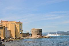 Old harbour, Saint Tropez Royalty Free Stock Photography