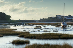 Old harbour scene Royalty Free Stock Image