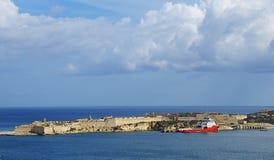 Old harbour Valetta, Malta Royalty Free Stock Photos