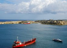 Old harbour Valetta, Malta Royalty Free Stock Image