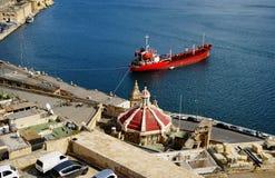 Old harbour Valetta, Malta Stock Photography