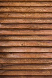 Old hardwood blind texture Stock Images