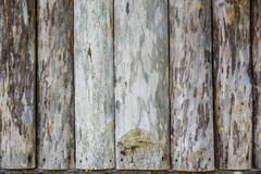 Old hardwood planks closeup Stock Photo
