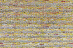 Old harmonic brick wall background Royalty Free Stock Image