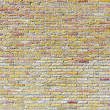 Old harmonic brick wall background Royalty Free Stock Photography