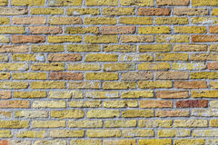Old harmonic brick wall background Stock Images