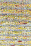 Old harmonic brick wall background Stock Photos