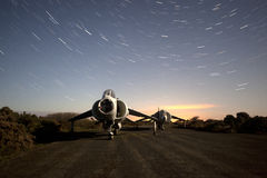 Old harrier at night Stock Photos