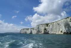 Old Harry rocks Stock Image