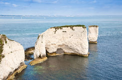 Old Harry Rocks Jurassic Coast UNESCO Royalty Free Stock Images