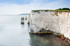 Old Harry Rocks Jurassic Coast UNESCO England Royalty Free Stock Photography