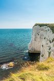 Old Harry rocks in Jurrasic coast in Dorset Royalty Free Stock Photography